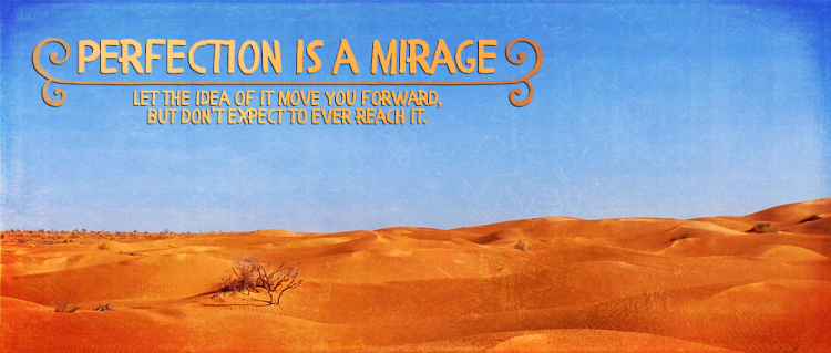 Desert with text